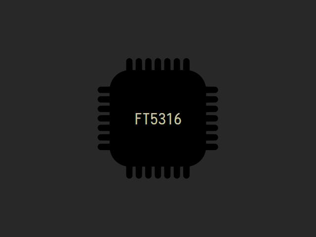 Прошивка тачскрина ft5316